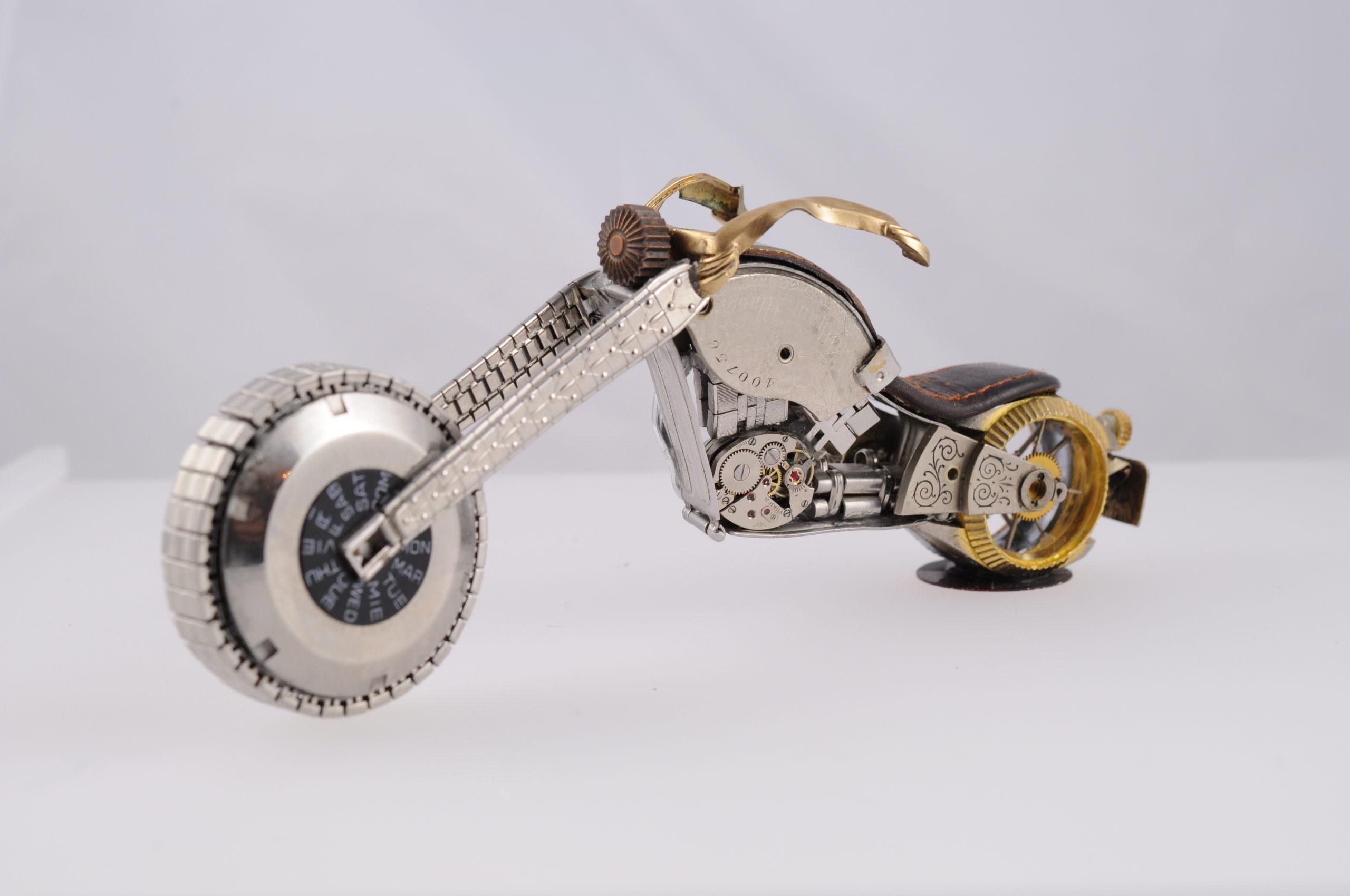 Rolex Watch Part Bike