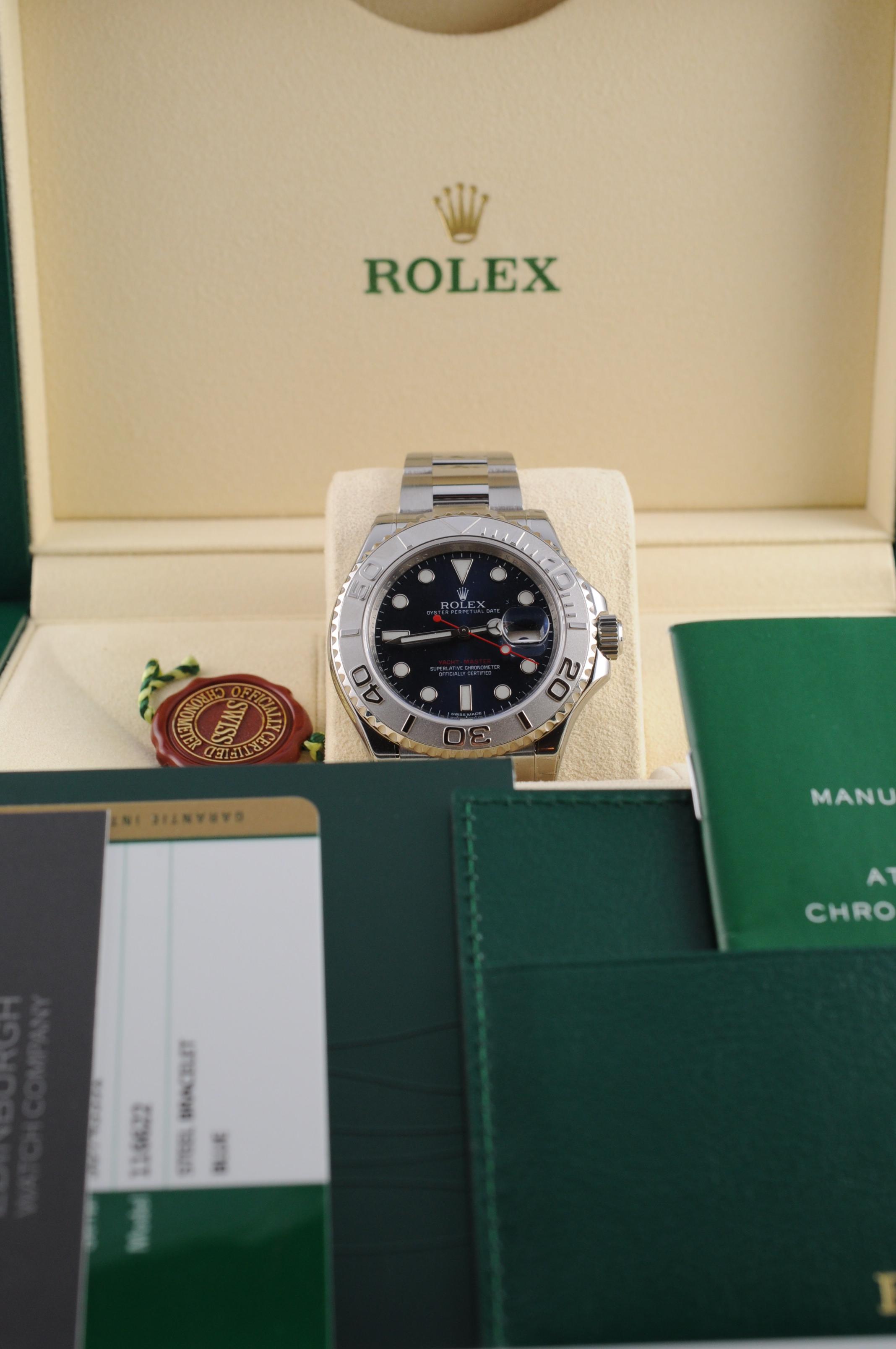 Rolex 0 Finance >> Rolex Yachtmaster - Edinburgh Watch Company | Luxury Timepieces