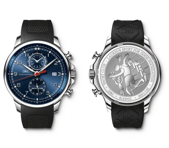 iwc yacht club laureus ltd edition
