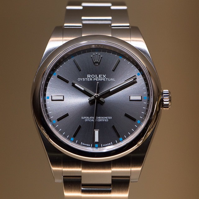 Rolex Oyster Perpetual 39 Grey