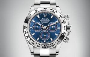 Rolex Daytona 18k blue dial