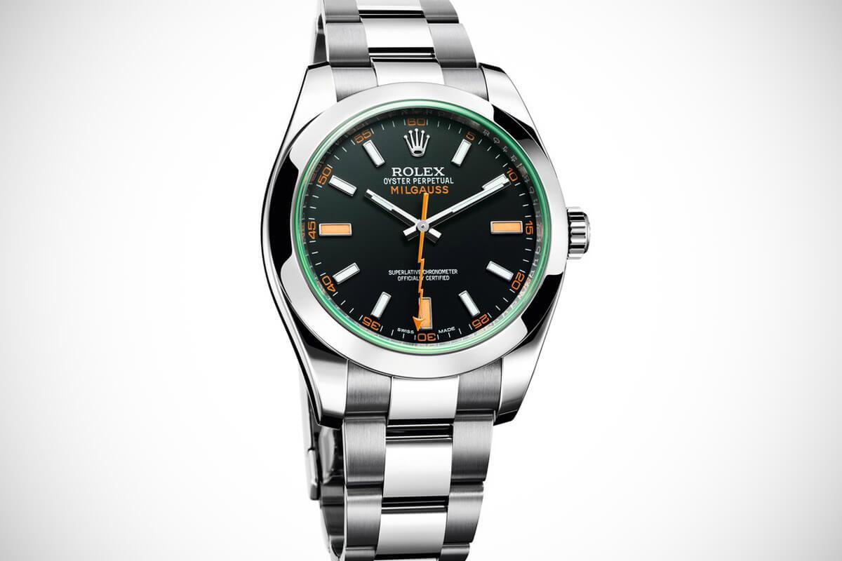 Rolex milgauss edinburgh watch company for Rolex milgauss