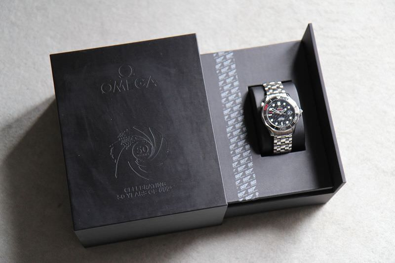 omega seamaster 300m james bond 50th anniversary edinburgh watch company luxury timepieces Omega Ladies Watches Rolex Watches