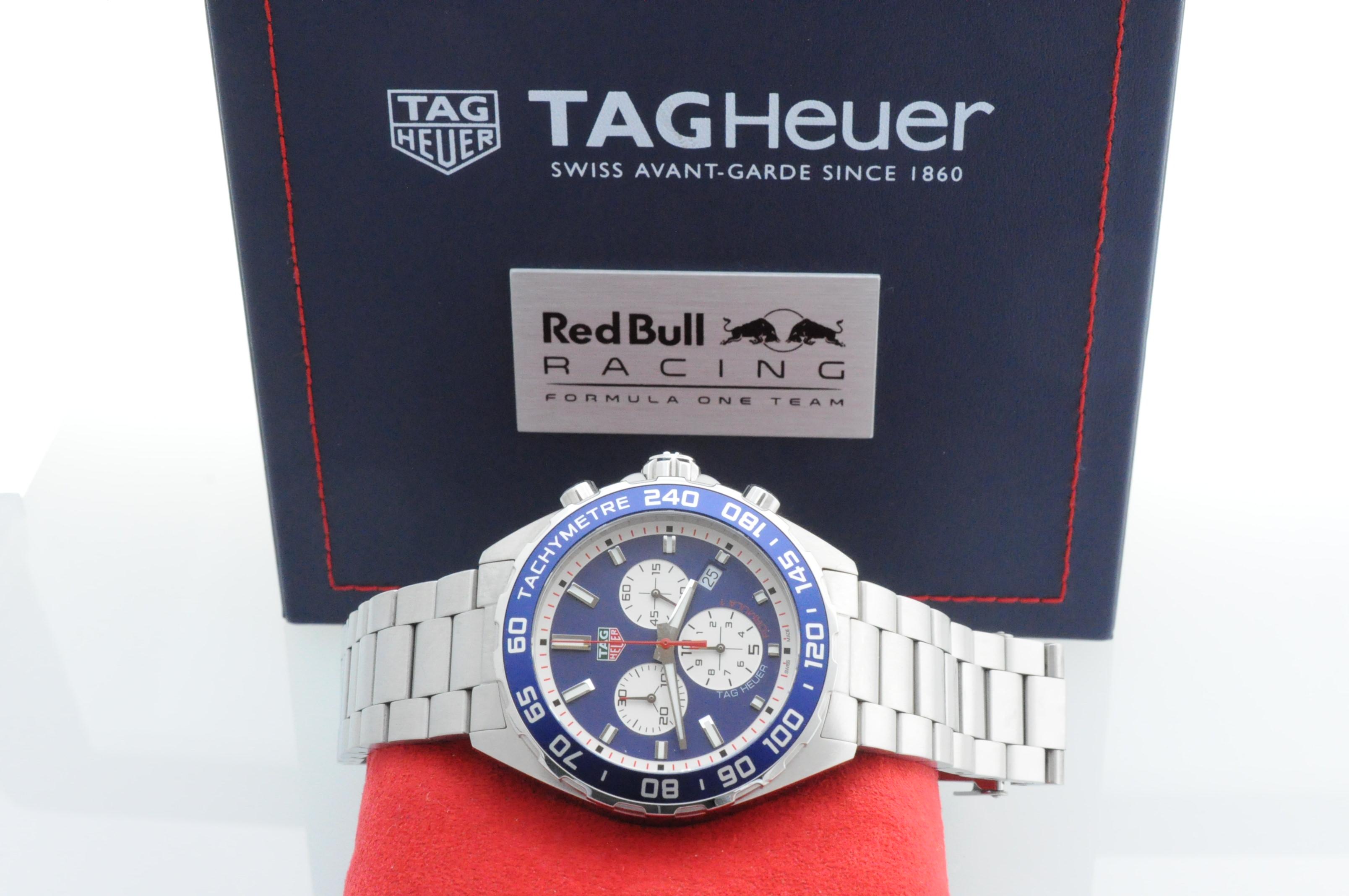 tag heuer formula 1 red bull ltd edition edinburgh watch. Black Bedroom Furniture Sets. Home Design Ideas