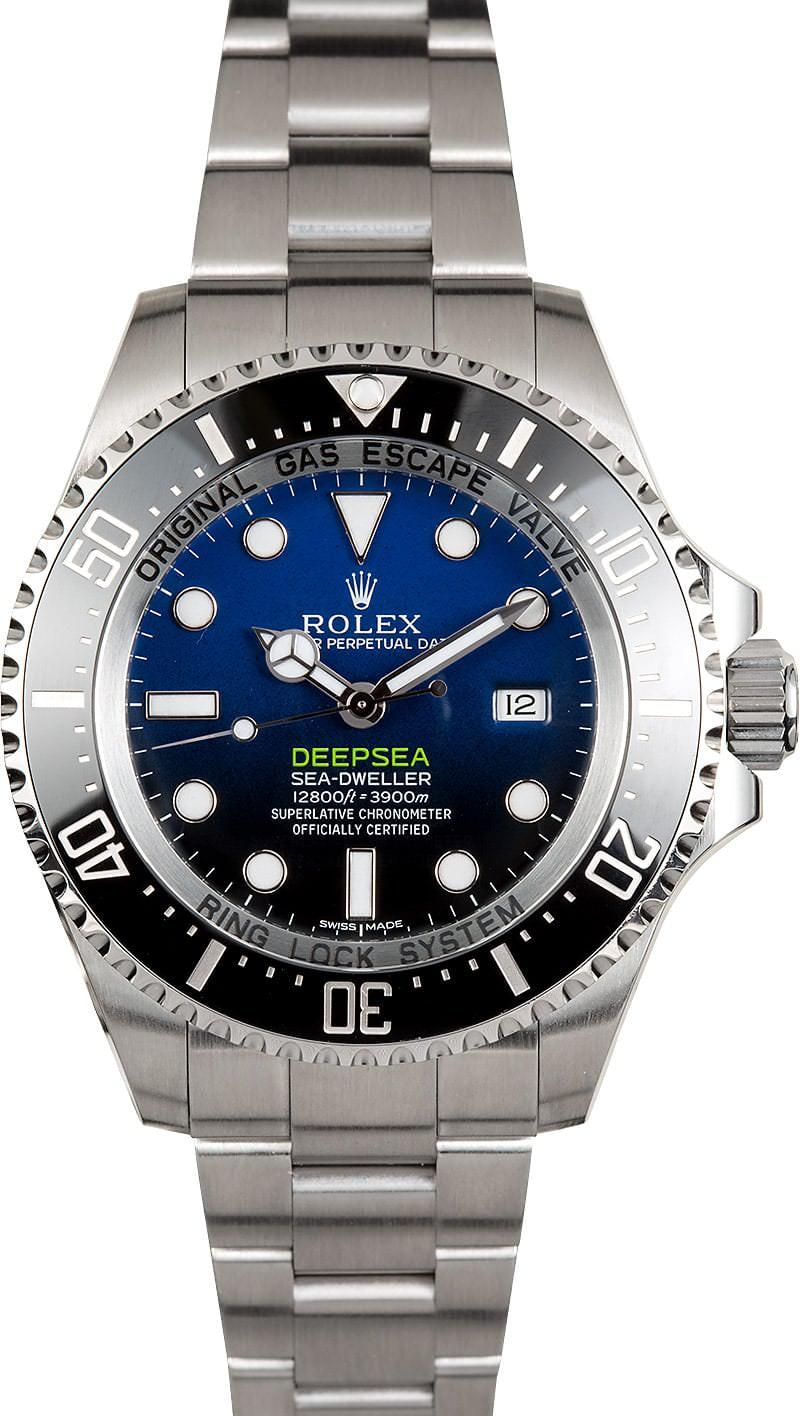 Rolex 0 Finance >> Rolex Sea-Dweller Deep Blue 116660 - Edinburgh Watch Company | Luxury Timepieces