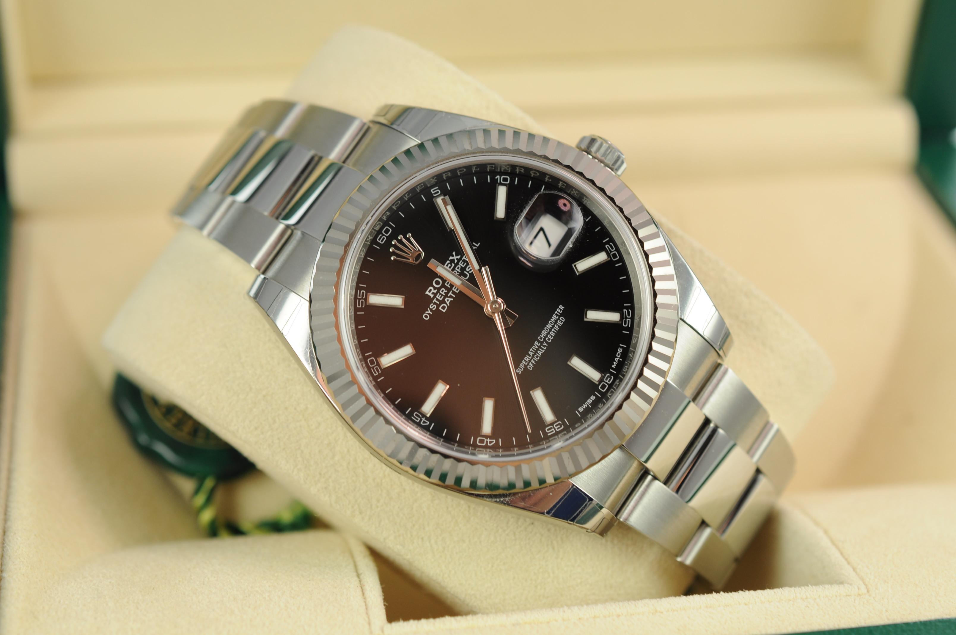 Rolex Datejust 41 126334 - Edinburgh Watch Company ...