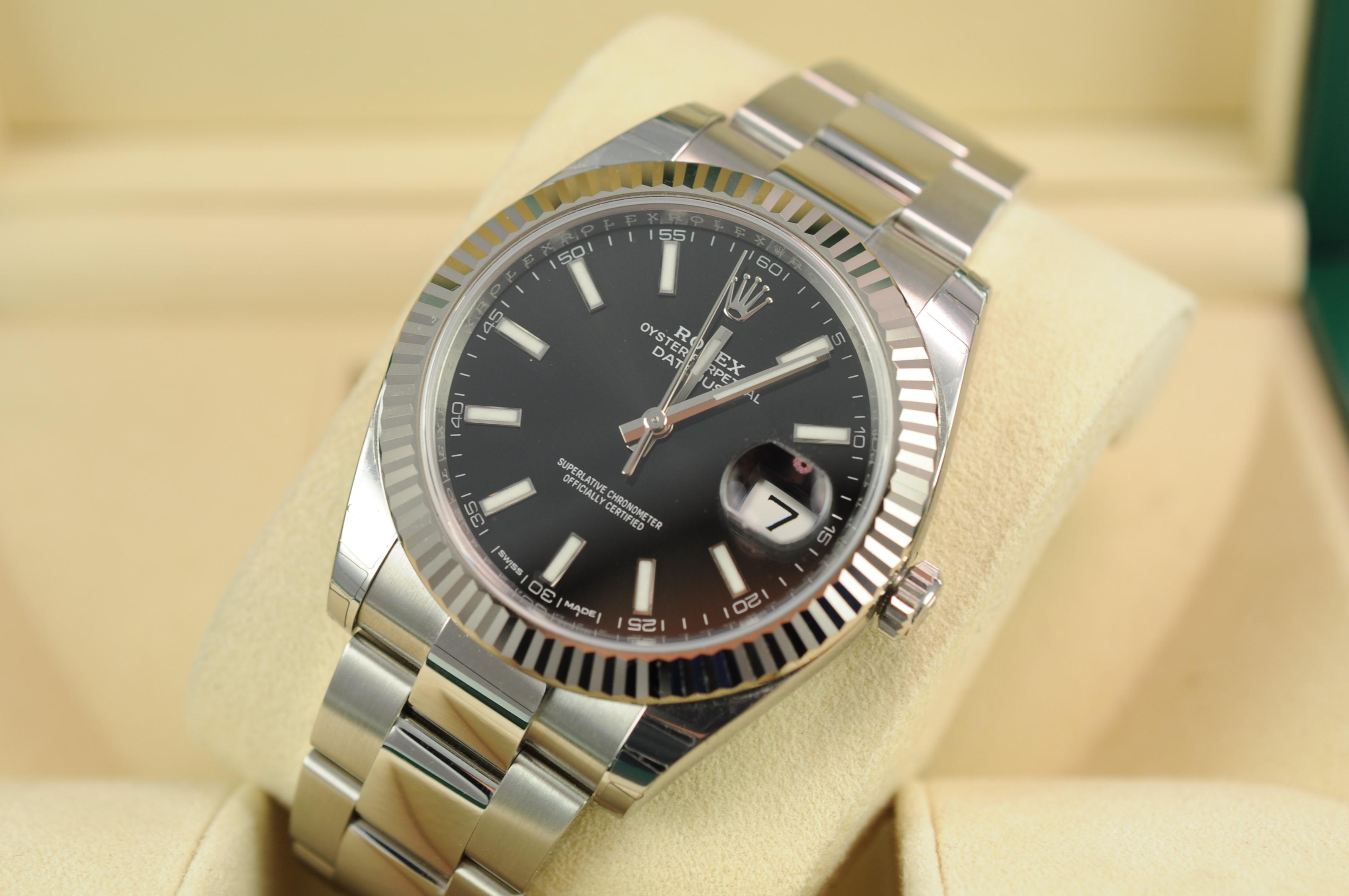 Rolex 0 Finance >> Rolex Datejust 41 126334 - Edinburgh Watch Company | Luxury Timepieces