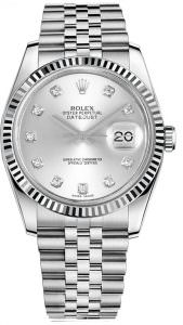 Rolex 116234 Diamond dial