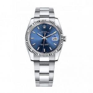 Rolex 115234 Blue dial