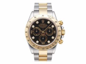 Rolex 116523 black diamond