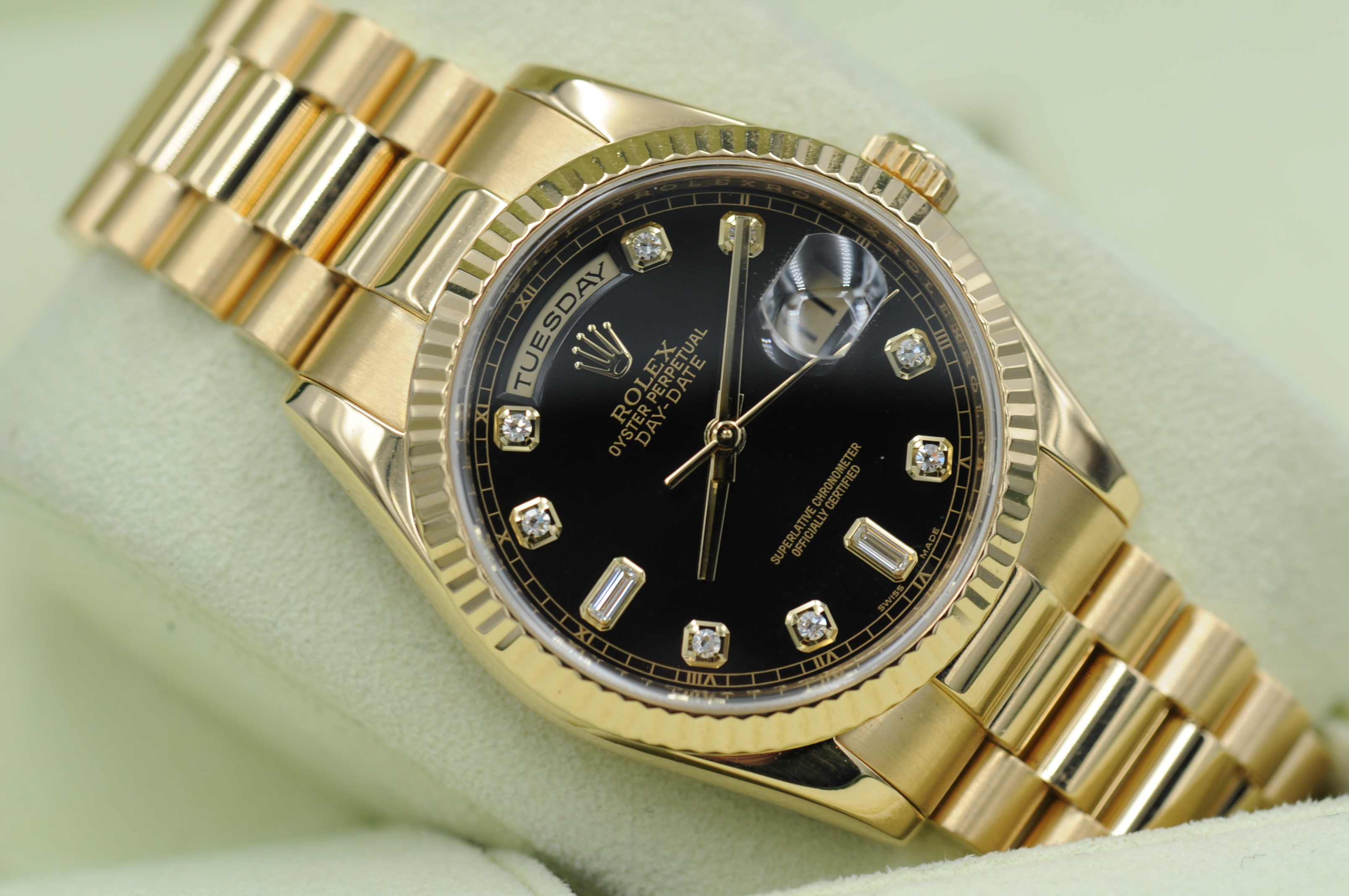 Rolex day date 36 118238 edinburgh watch company luxury timepieces for Rolex day date 36