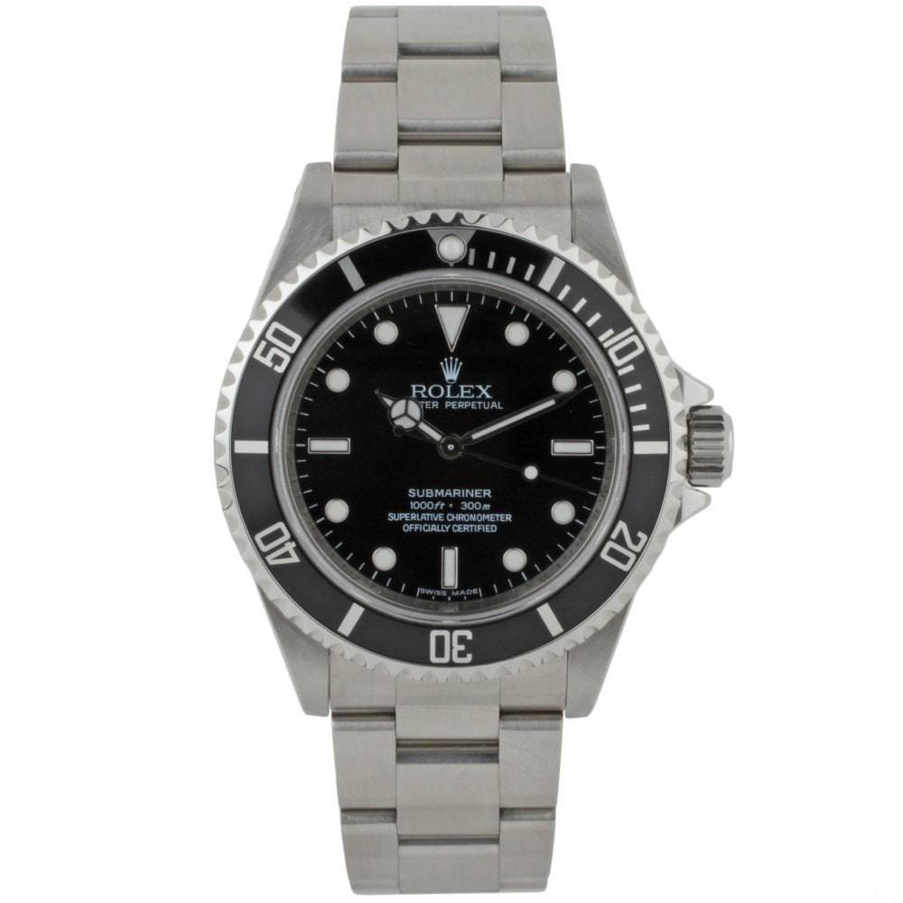 rolex submariner 14060m edinburgh watch company luxury. Black Bedroom Furniture Sets. Home Design Ideas
