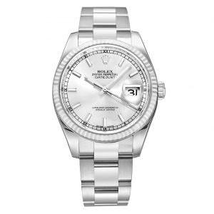 Rolex 116234 Silver index
