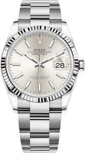 Rolex126234 Silver Index