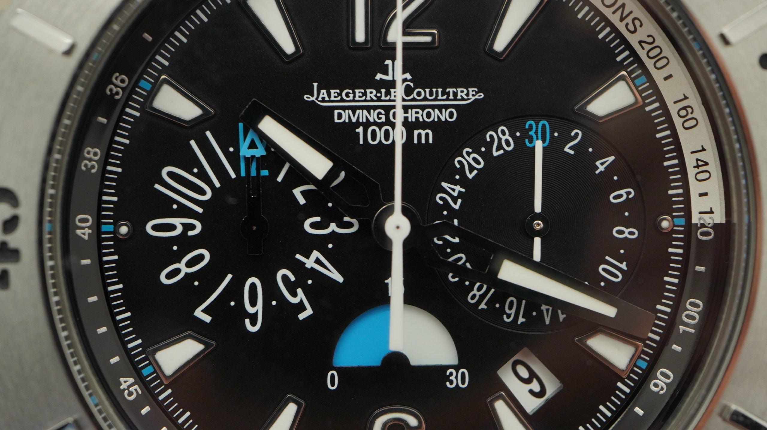 Jaeger Le Coultre Diver Chrono