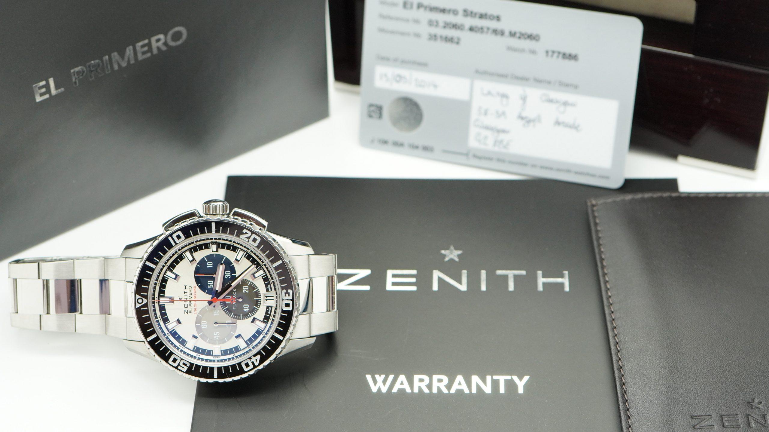 Zenith El Primero Stratos Flyback