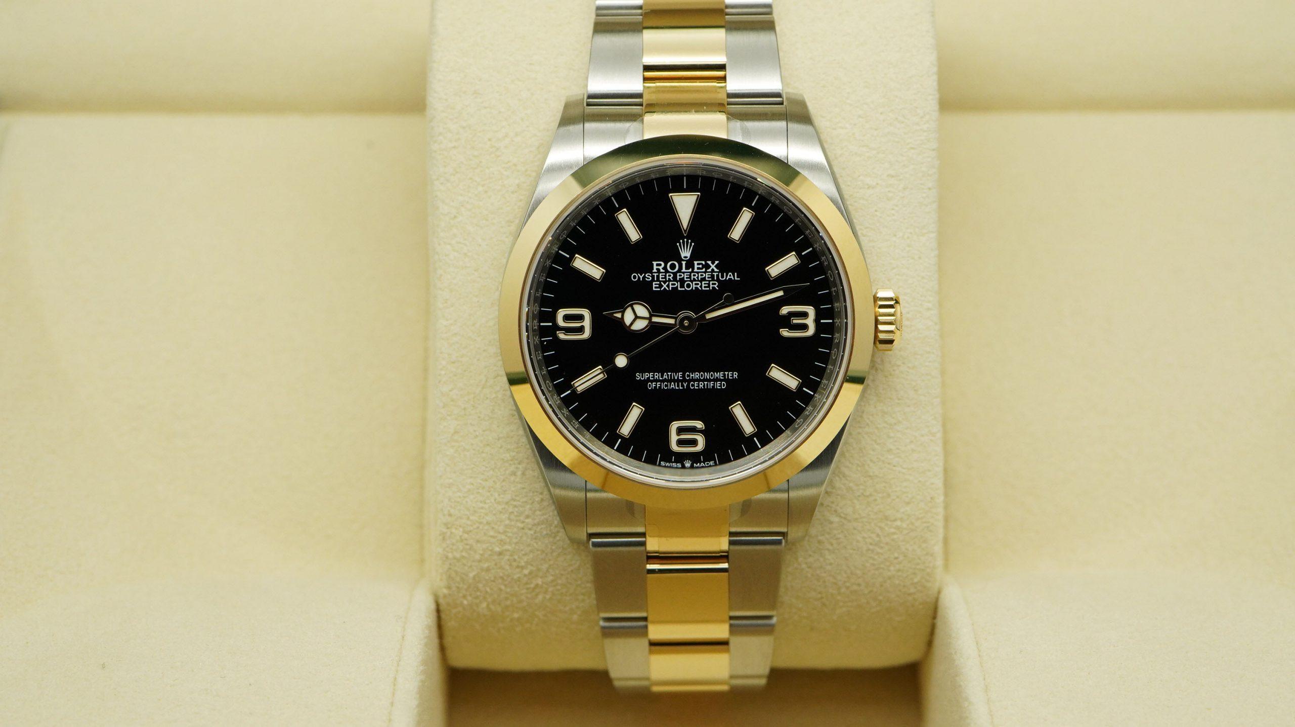 Rolex Explorer 124723