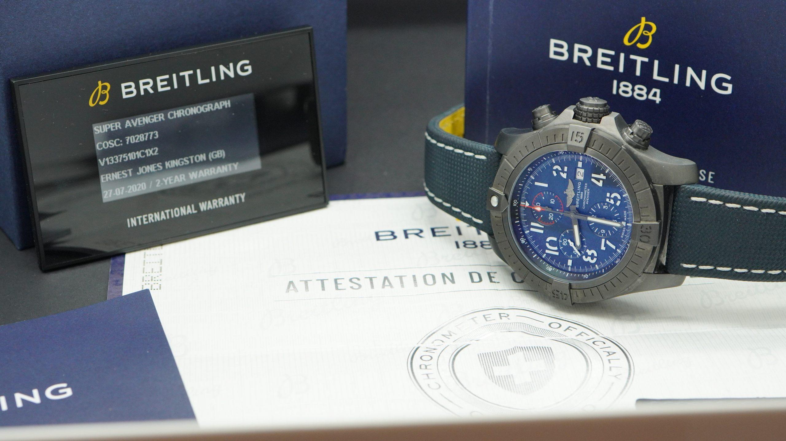 Breitling Super Avenger 48 Night Mission DLC