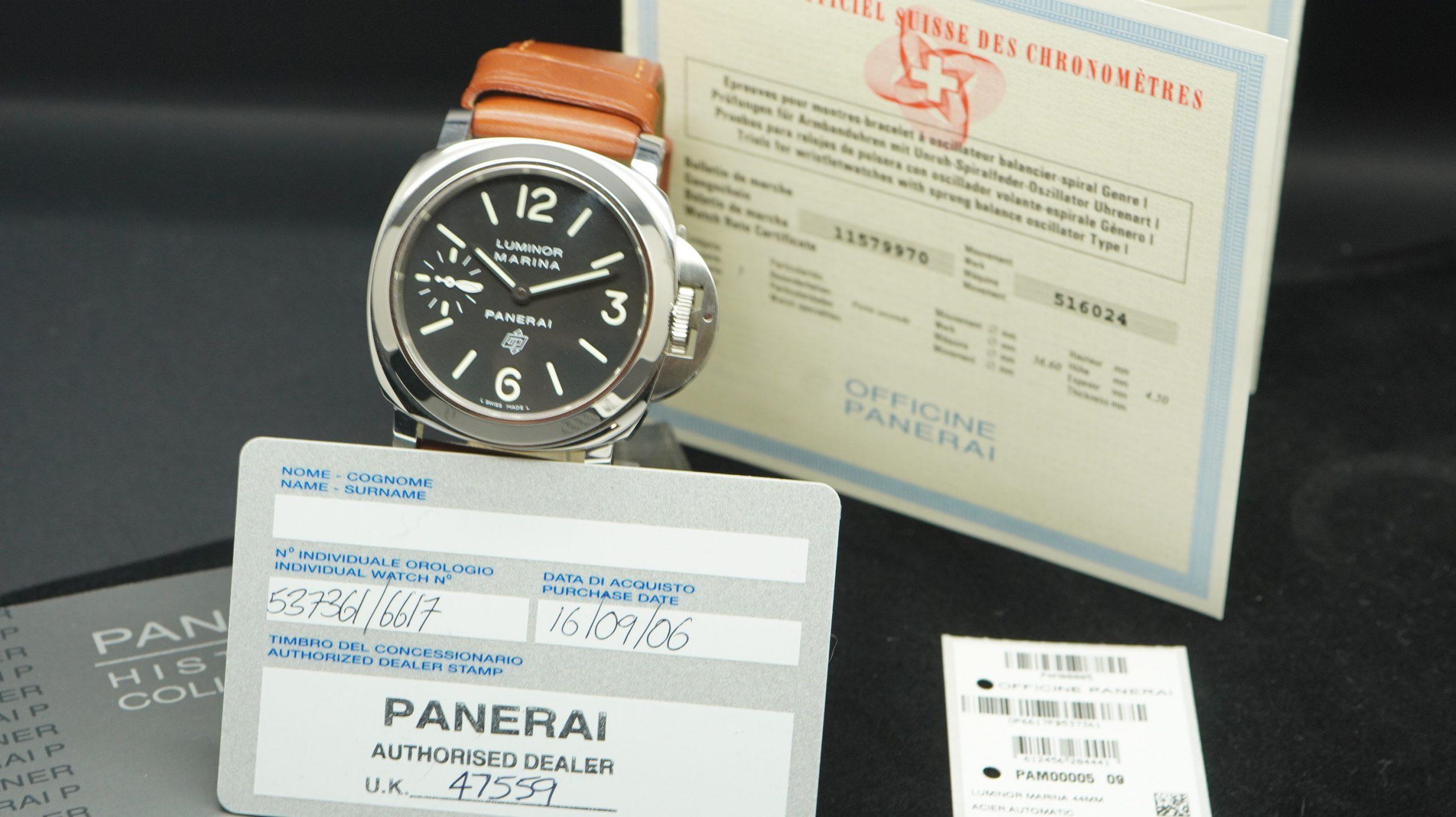 Panerai PAM00005